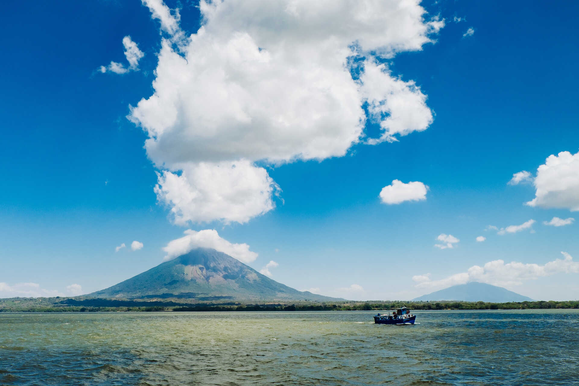 Volcan Concepcion in Lake Nicaragua on Ometepe island